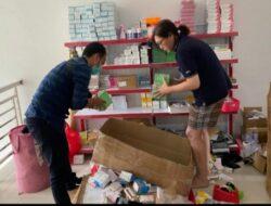 Pasarkan Kosmetik Ilegal, Polda Riau Ringkus Pelaku
