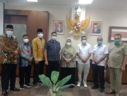 Antisipasi Sebaran Virus, Komisi I DPRD Riau Kunjungi DPRD Sumbar