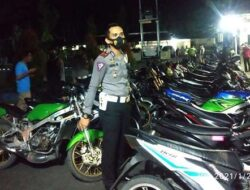 48 Unit Sepeda Motor Pelaku Balap Liar Berhasil Diamankan Polres Pasbar