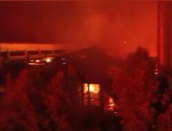 Sepuluh Unit Rumah di Kawasan Gor H Agus Salim Dilalap Sijago Merah
