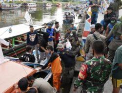 75 Orang Terjebak di Pulau Angso Duo Berhasil Dievakuasi
