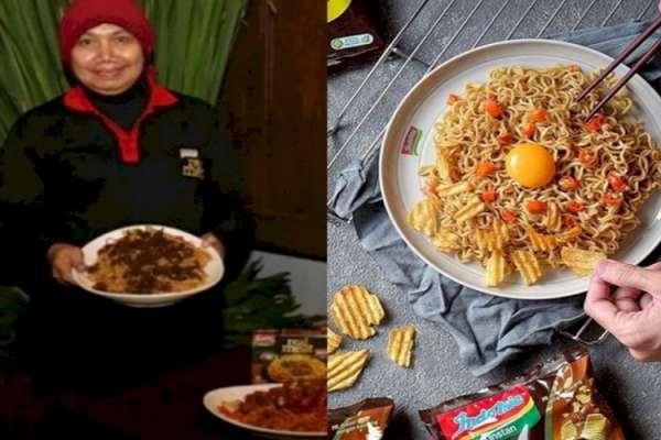 Peracik rasa Indomie, Nunuk Nuraini. Foto : Internet