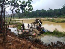 Polres Dharmasraya Ungkap Dua Aktivitas Illegal Mining