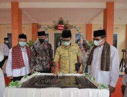 Gubernur Irwan Prayitno Resmikan Masjid Al Mustasyifa Yang Di Prakarsai Yayasan Darianis Yatim