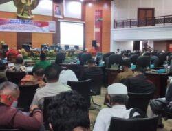 DPRD Sumbar Gelar Rapat Pengesahan Pengangkatan Gubernur