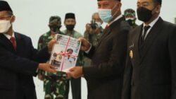 Sertijab Gubernur Sumbar, Mahyeldi Siap Mulai Pembangunan Sumbar