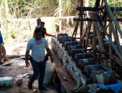Polisi Grebek Tiga Penambang Ilegal di Tanah Datar