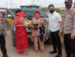 Dua IRT Pencuri Handphone Berhasil Ditangkap Petugas Sijunjung
