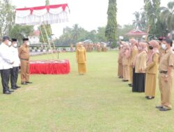 Wako-Wawako Solok Apel Perdana Pasca Pelantikan Pilkada