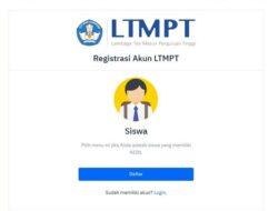 Registrasi Akun LTMPT Ditutup Jam 3 Sore Ini, Berikut Langkahnya