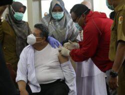 Pasca Pelantikan Pilkada, Wako Solok Jalani Vaksinasi Covid Ke-2