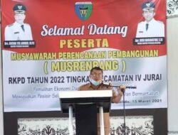 Kecamatan IV Jurai Usulkan 20 Program Unggulan Untuk Tahun 2022