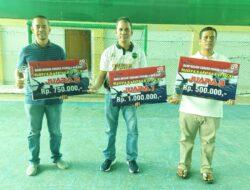 Bank Nagari Painan Gelar Turnament Futsal Bersama BPR Pessel