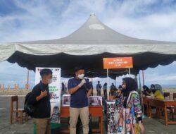 President JCI West Sumatera Dukung Kegiatan Bersih-Bersih Pantai dan Donor Darah