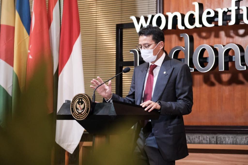 Menteri Pariwisata dan Ekonomi Kreatif Sandiaga Uno. Foto : Istimewa