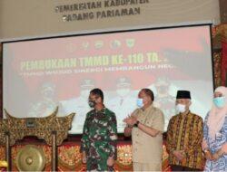 Bupati Padang Pariaman dan Mentawai Apresiasi Pelaksanaan TMMD ke-110