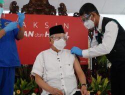 Ma'ruf Amin Jalani Vaksinasi Tahap ke Dua