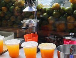 Manfaat Jus Jeruk Peras yang Sedang Sangat Diminati Warga Padang