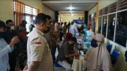 Hari Ini ! Pedagang Pasar Mulai Divaksinasi di Dharmasraya