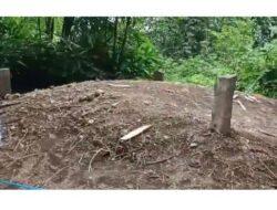 Geger ! Tanah Kuburan Tiba – Tiba Tinggi di Padang Pariaman