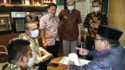 Wali Kota Pariaman dan Bupati Padang Pariaman Tanda Tangani Kesepakatan Batas Daerah
