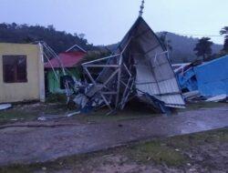 Cuaca Ekstrim Melanda Wilayah Pessel, Puluhan Rumah Rusak Parah