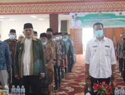 Bupati Rusma Yul Anwar Hadiri Pengukuhan Pengurus DMI Pessel