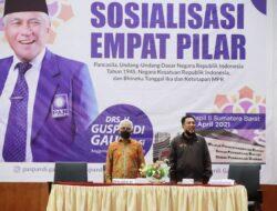 Anggota DPR RI Sosialisasi Empat Pilar Kebangsaan Bersama JPS dan Wartawan Sumbar