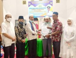 Wakil Bupati Pasbar Kunjungi Mesjid Baiturrahman Luhak Nan Duo
