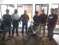 Satreskrim Polres Pasbar Ringkus Remaja Pencuri Sepeda Motor