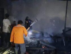 Kebakaran Rumah Warga di Pasbar Akibatkan Kerugian Jutaan Rupiah