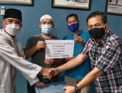 Penghubung Kota Solok Terima Bantuan KBKS Jaya Untuk Muhammad Ihsan