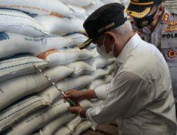 Jelang Hari Raya Idul Fitri 1442 H Forkopimda Kabupaten Asahan Lakukan Sidak Pasar