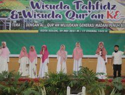 Wawako Solok Buka Wisuda Tahfidz dan Qur'an