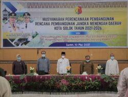 Wawako Buka Musrenbang RPJMD Kota Solok 2021-2026