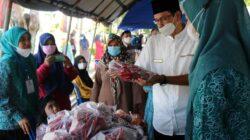 Bazar dan Pasar Murah di Bukittinggi Resmi Dibuka