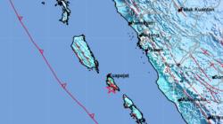 Gempa 5,7 SR Guncang Sumbar