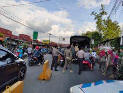 Polres Bukittinggi Laksanakan Razia Gabungan Penerapan Prokes