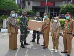 Mabes TNI Salurkan Bantuan APD Untuk Nakes Di Rumah Sakit