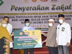 UPI YPTK Padang Bantu Anak Yatim dan Fakir Miskin