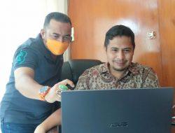 Komisi Informasi Sumbar Ikuti Rakernis Virtual se Indonesia