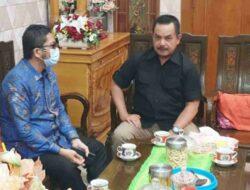 Walikota Padang Kunjungi Fauzi Bahar, Ada Apa ?