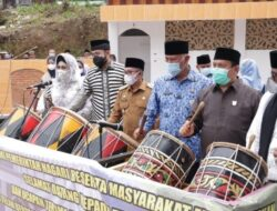 Gubernur Sumbar Hadiri Peresmian Masjid Ihsan Sungai Patai