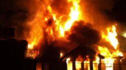 Kebakaran di Payakumbuh, Pemilik Alami Luka Bakar