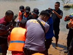 Seluruh Pemudik Korban Tenggelam di Sungai Taluak Subanio Berhasil Ditemukan