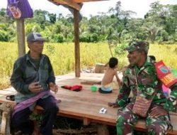 Bapak Zulham Apresiasi Program TMMD di Kampung Dorba