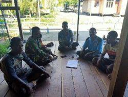 Pemuda Kampung Dorba Apresiasi Personil Satgas TMMD