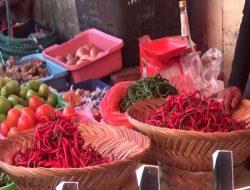 Harga Cabai Merah Turun di Pasar Bukittinggi
