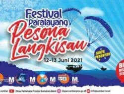 Ratusan Atlet Ikuti Festival Paralayang Pesona Langkisau 2021