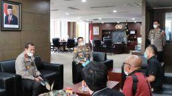 Panitia Ajak Kapolda Sumbar Mengikuti Vlog Contest Lantamal II – JPS